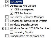 Scalability and availability of archives using the DFS – Windows